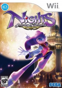 Обложка NiGHTS: Journey of Dreams