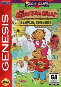 Обложка The Berenstain Bears: Camping Adventure