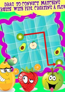 FruitFlow: Multilevel Fruit Game of Slice Unification, A