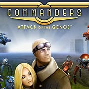 Обложка Commanders: Attack of the Genos