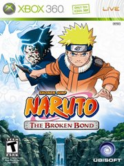 Обложка Naruto: The Broken Bond
