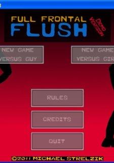 Full Frontal Flush Strip Poker