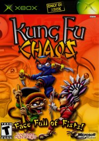 Обложка Kung Fu Chaos