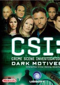 Обложка CSI: Dark Motives