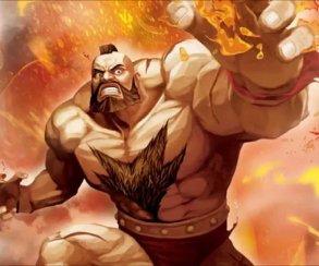 Чей-то папа изобразил всех персонажей Street Fighter 2