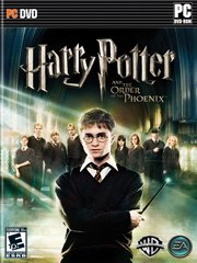 Обложка Harry Potter and the Order of the Phoenix