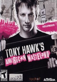 Обложка Tony Hawk's American Wasteland