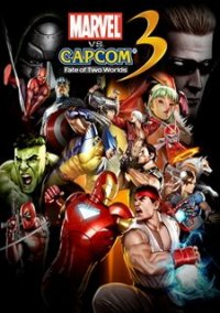 Обложка Marvel vs. Capcom 3