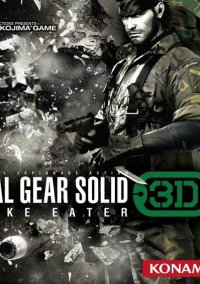 Обложка Metal Gear Solid: Snake Eater 3D