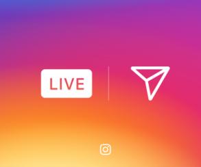 Instagram добавил функцию прямых трансляций