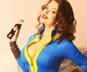 Fallout 4 и косплей в стиле пин-ап просто созданы друг для друга