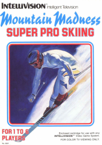 Обложка Mountain Madness: Super Pro Skiing