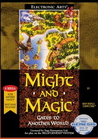 Обложка Might and Magic: Gates to Another World