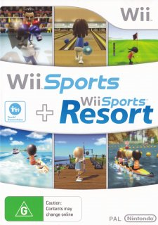 Wii Sports and Wii Sports Resort