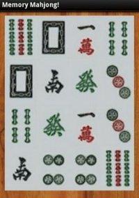 Обложка MemoryMahjong