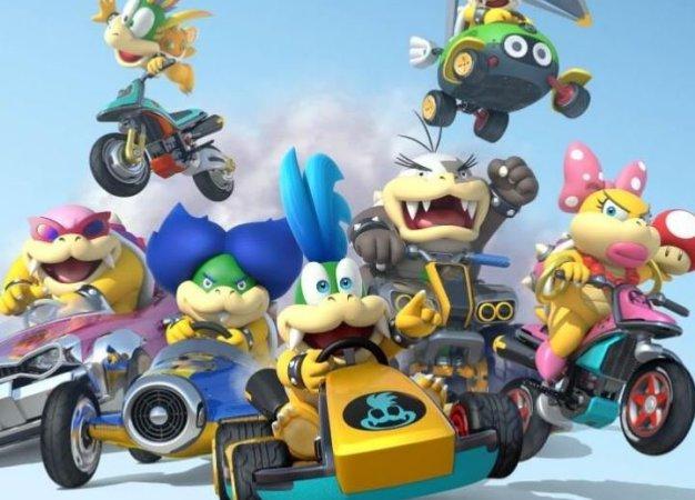 Рецензия на Mario Kart 8