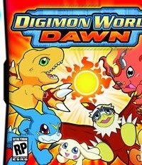 Обложка Digimon World Dawn