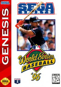 Обложка World Series Baseball '96