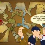 Скриншот The Three Stooges: Treasure Hunt Hijinks – Изображение 2