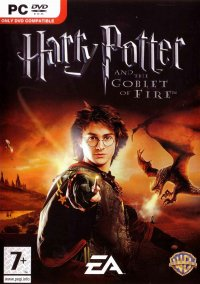Обложка Harry Potter and the Goblet of Fire