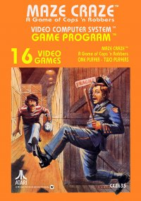 Обложка Maze Craze: A Game of Cops and Robbers