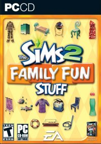 Обложка The Sims 2: Family Fun Stuff