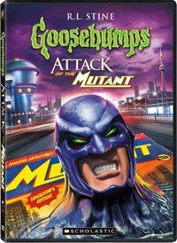 Обложка Goosebumps: Attack of the Mutant