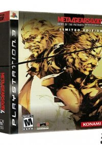 Metal Gear Solid 4: Guns of the Patriots Limited Edition – фото обложки игры