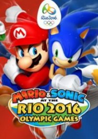 Обложка Mario & Sonic at the Rio 2016 Olympic Games