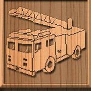 Обложка Fire Truck Sliding Puzzle