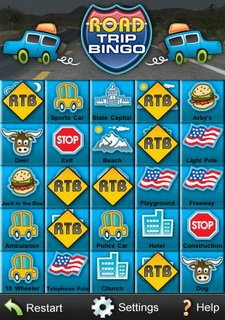 Road-Trip-Bingo