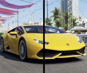 Сравнение графики Forza 6 на Xbox One и PC