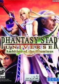 Обложка Phantasy Star Universe: Ambition of the Illuminus