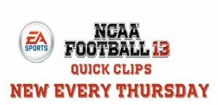 NCAA Football 13. Видео #4