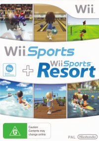 Обложка Wii Sports and Wii Sports Resort