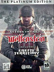 Обложка Wolfenstein: Enemy Territory
