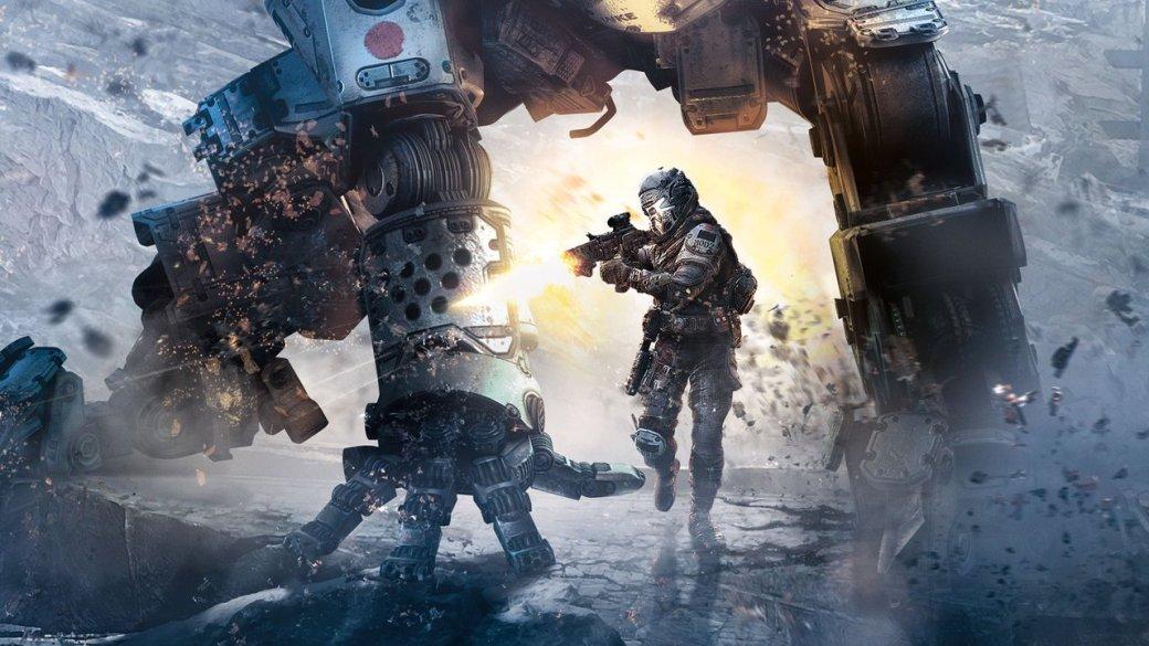 В Titanfall 2 вместо роботов используются боевые экскаваторы - Изображение 1