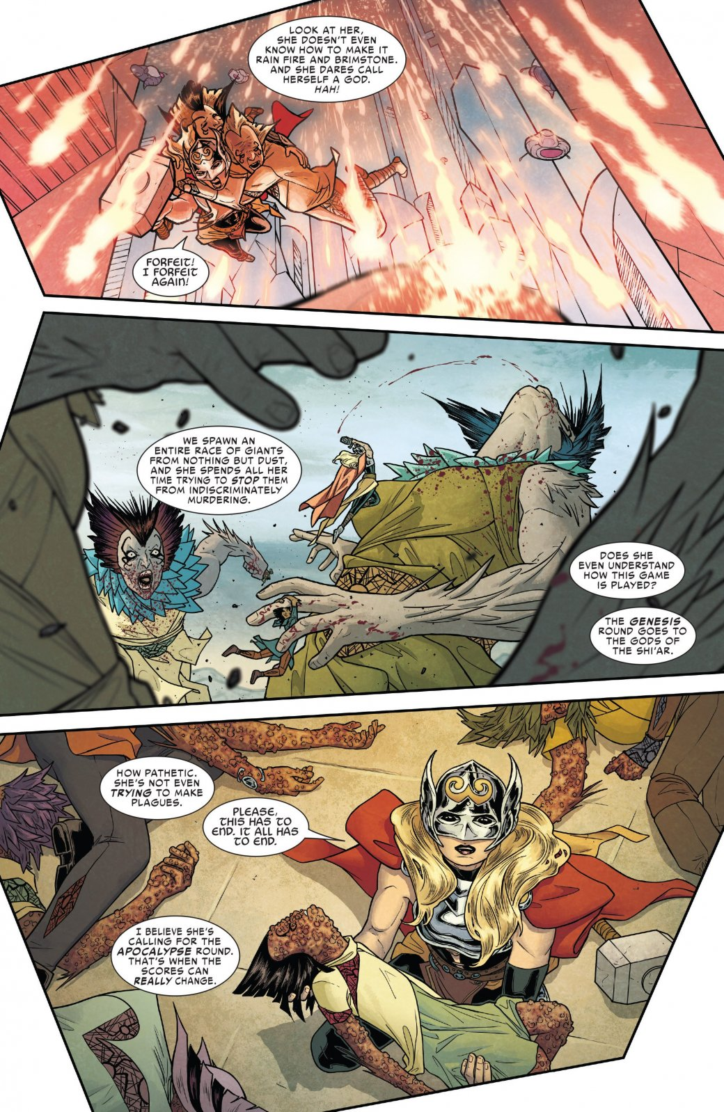 Асгард своих не бросает: боги пришли на помощь похищенной Тор - Изображение 1