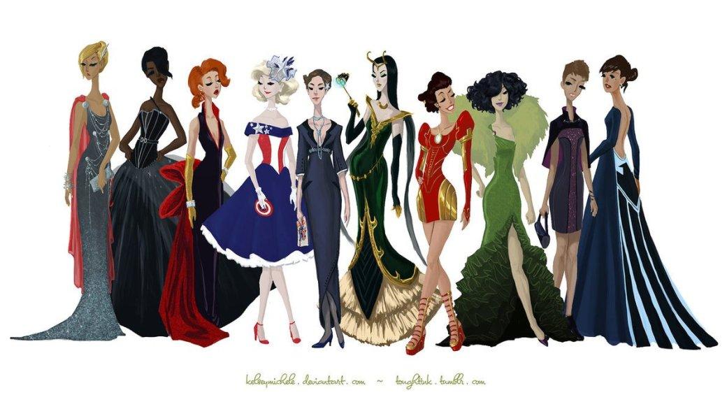 Галерея вариаций: Мстители-женщины, Мстители-дети... - Изображение 33
