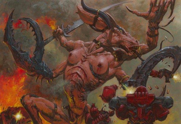 Warhammer 40000. История длинною в миллионы световых лет. Продолжение. - Изображение 3