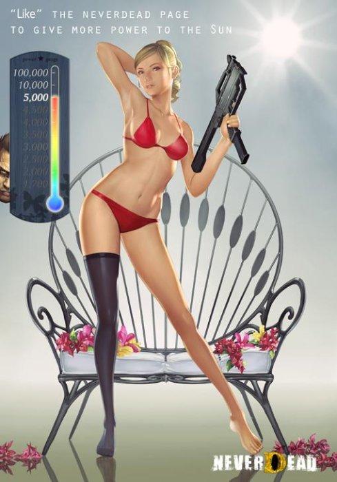 Вялая реклама NeverDead - Изображение 1