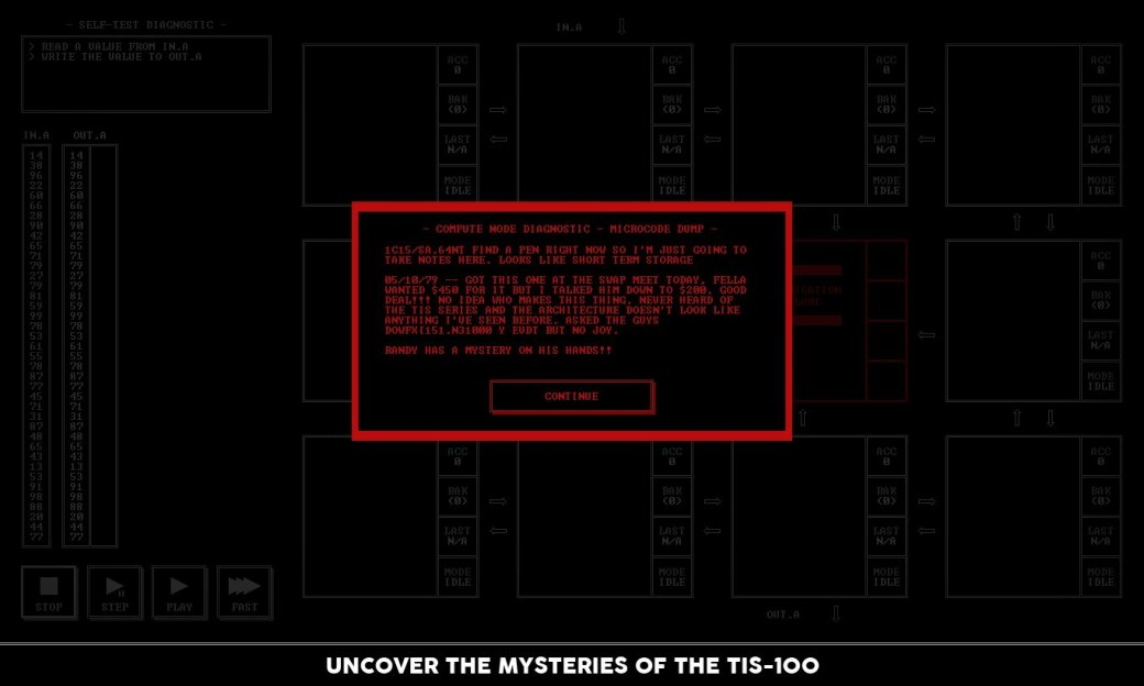 В Steam появилась TIS-100: игра про программирование на ассемблере - Изображение 3