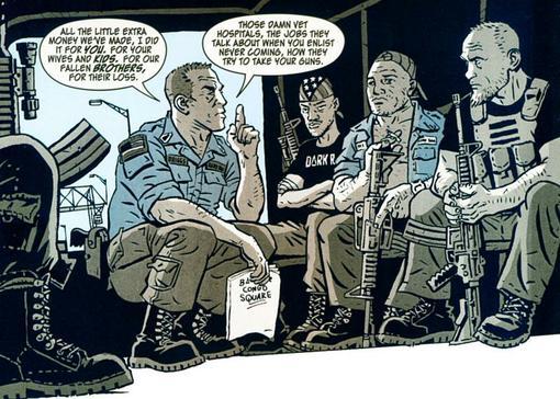 Комиксы: Dark Rain: A New Orleans Story - Изображение 4