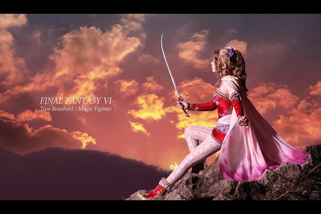 Качественный японский косплей героини Final Fantasy VI - Изображение 4