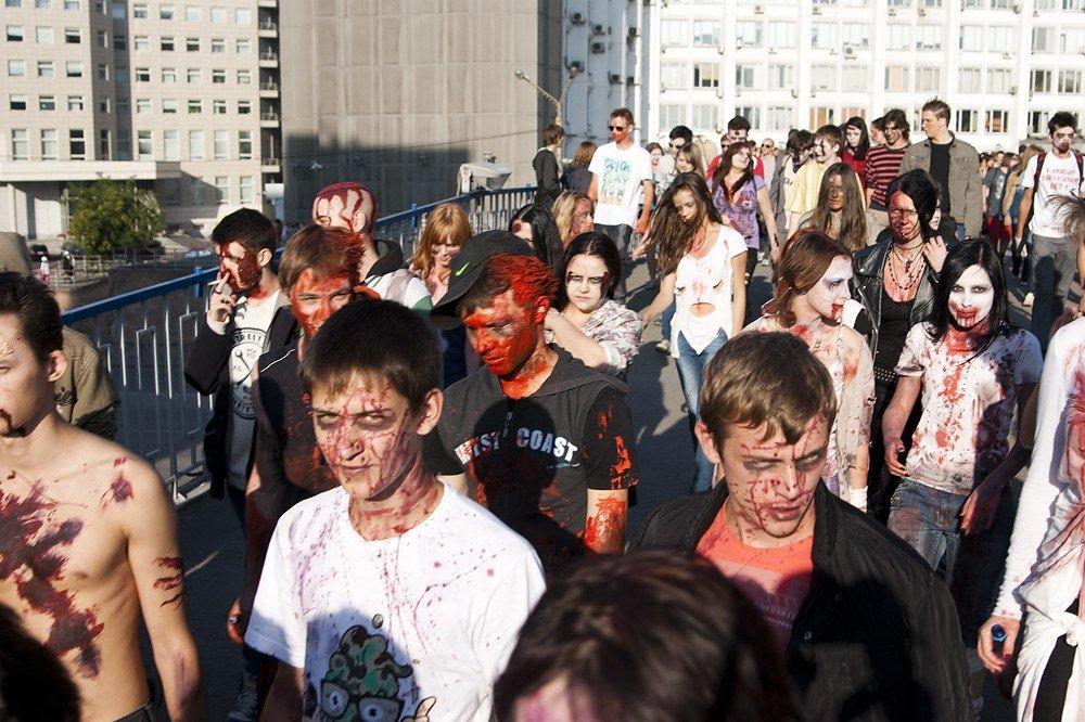 Лучшие фотографии с красноярского зомби-парада - Изображение 4