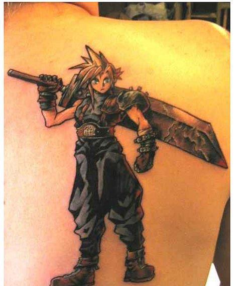 Татуировки фанатов видеоигр. - Изображение 19
