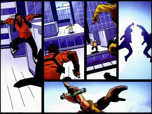 Комиксы: Mirror's Edge - Изображение 3