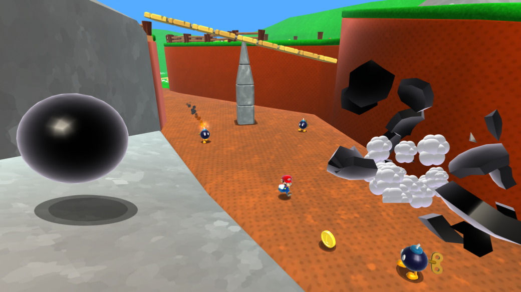 Nintendo растоптала ПК-ремейк Super Mario 64. - Изображение 1