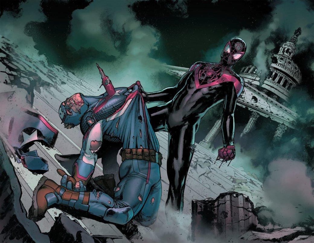 Черный Человек-Паук убьет Капитана Америка вовторой «Гражданке»?. - Изображение 3