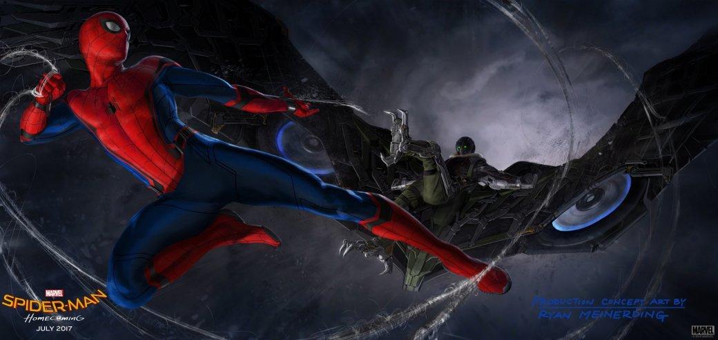 «Человек-паук» показал Стервятника и Питера Паркера с одноклассницами - Изображение 1